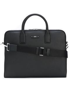 портфель на молнии с бляшкой-логотипом Boss Hugo Boss