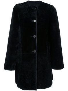 пальто без воротника  Marni