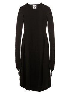 платье с длинными рукавами  Aganovich