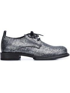 ботинки с имитацией чешуи Ann Demeulemeester