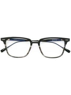 очки в квадратной оправе Dita Eyewear