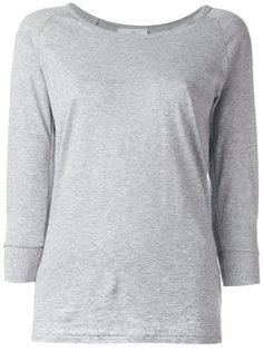 футболка с рукавами три четверти The White Briefs