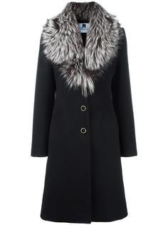 пальто на пуговицах Blumarine