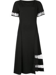 платье с кружевными вставками Jason Wu