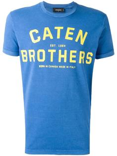 футболка Caten Brothers Dsquared2