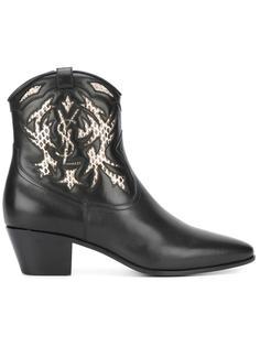 ботинки по щиколотку Rock 40 Saint Laurent