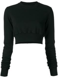 укороченный свитер  Rick Owens DRKSHDW