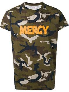 футболка с камуфляжным рисунком Palm Angels