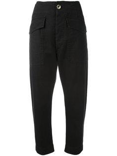 укороченные брюки с высокой талией Isabel Marant Étoile