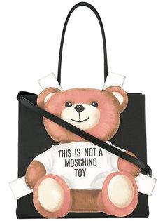 сумка с плюшевым медведем Moschino