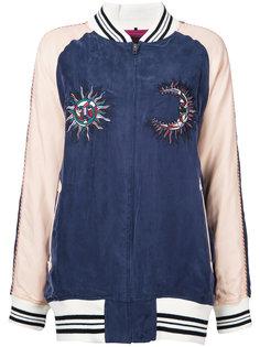 объемная куртка бомбер Aula