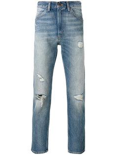 укороченные джинсы с рваными деталями Levis Vintage Clothing
