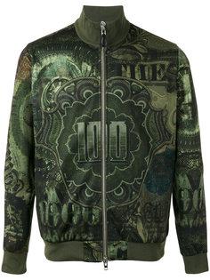 куртка-бомбер  с принтом доллара Givenchy