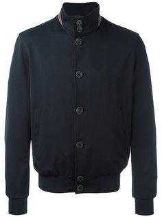 куртка-бомбер  с высокой горловиной Herno