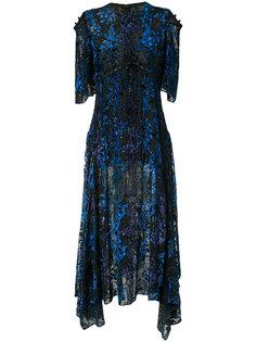 асимметричное платье Prabal Gurung