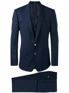 строгий костюм-тройка Dolce & Gabbana