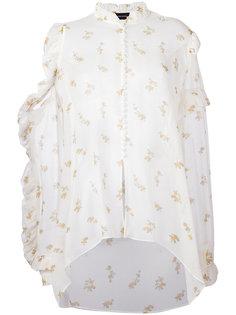 рубашка с цветочным принтом Magda Butrym