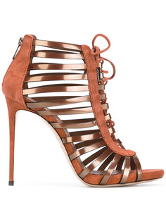 ботинки со шнуровкой Le Silla