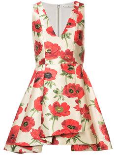 платье Falling Poppy Alice+Olivia