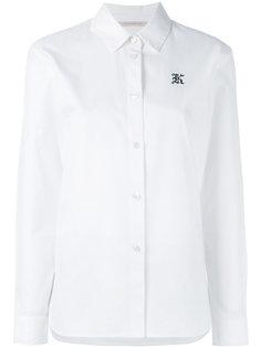 рубашка с вышитой буквой K Christopher Kane