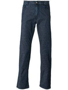 джинсы кроя слим Canali