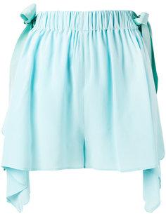 шорты с волнистой окантовкой Fendi