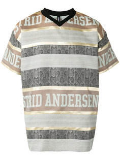 полосатая футболка с логотипом Astrid Andersen