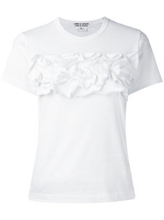 футболка с рюшами Comme Des Garçons Comme Des Garçons