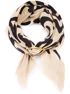 шарф с цветочным узором Lizzie Fortunato Jewels