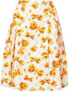 юбка с бабочками Carolina Herrera