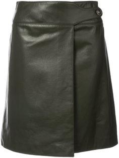 юбка со складкой  Carolina Herrera