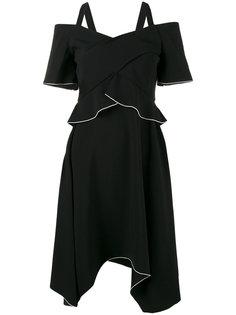 платье с асимметричным подолом Proenza Schouler