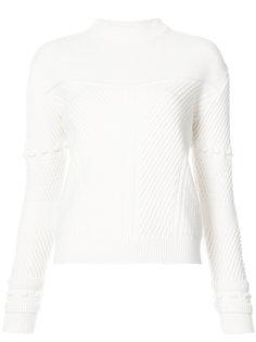 классический трикотажный свитер Carolina Herrera