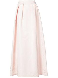 расклешенная юбка макси Carolina Herrera