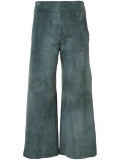 укороченные брюки  Adam Lippes