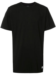 однотонная футболка Stampd