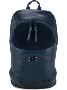кожаный рюкзак с контрастными вставками As2ov