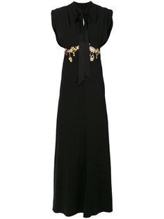 платье макси Waterlily Temperley London