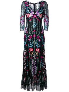 платье с V-образным вырезом Woodland Temperley London