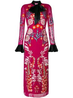 платье миди Woodland Temperley London