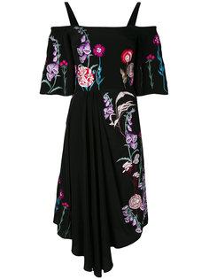 платье длины миди Woodland Temperley London