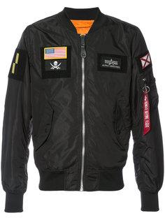 куртка-бомбер L-2B Alpha Industries