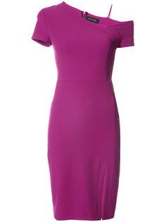 асимметричное приталенное платье  Yigal Azrouel