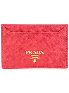 классическая визитница Prada