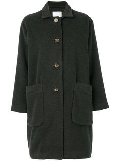 пальто с накладными карманами Société Anonyme