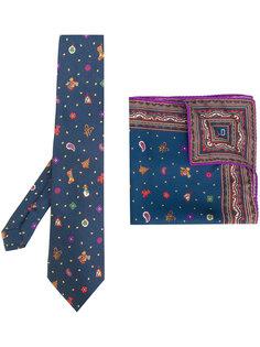 галстук и карманный платок Etro
