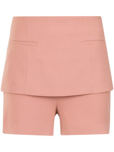layered shorts Giuliana Romanno