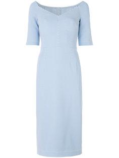приталенное платье миди Dolce & Gabbana