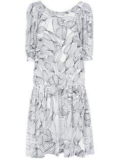 платье с рисунком Isolda