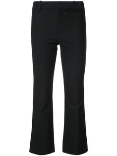 Cropped Flare Trouser with Tuxedo Piping Derek Lam 10 Crosby